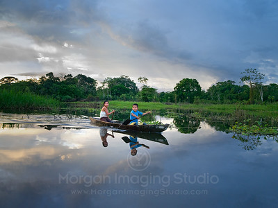 Children Of The Peruvian Amazon