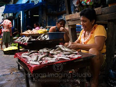 Peruvian Market, Iquitos, Peru