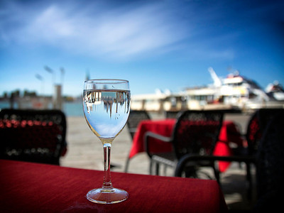 Through The Water Glass (Venice Italy)