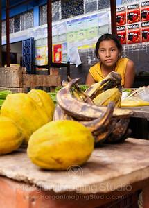 Young Peruvian Street Vendor