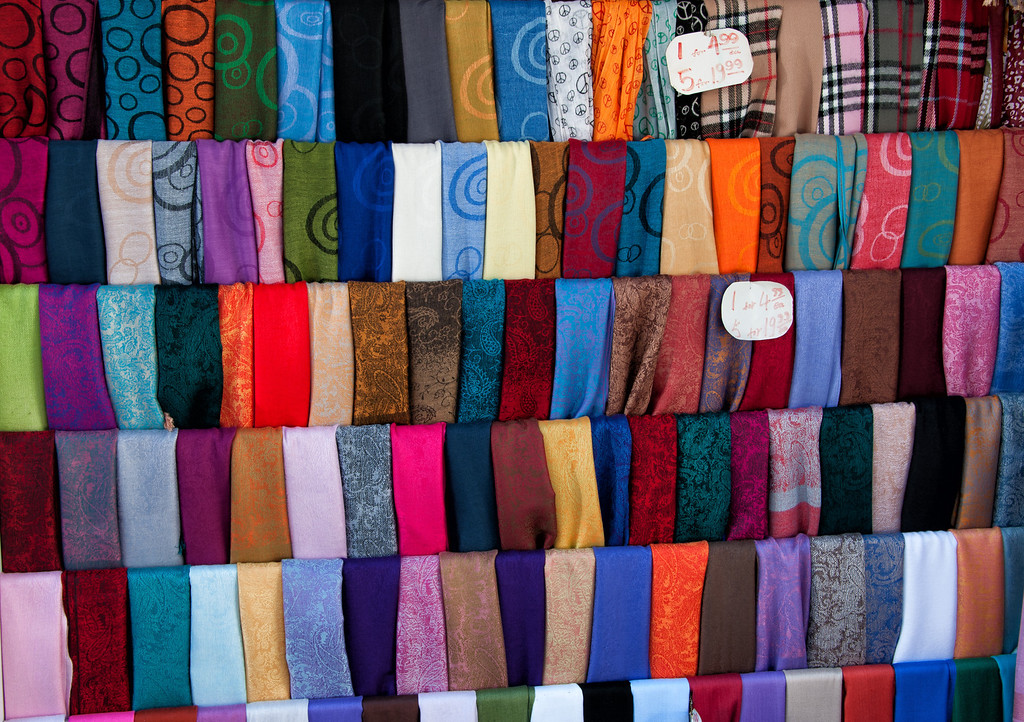 China Town Scarves