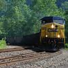 Train near Thurmond, WV