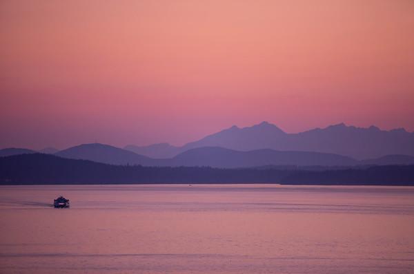 Puget Sound, Seattle WA