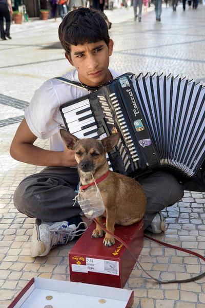 Lisbon Street Musician