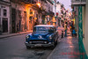 Day turns to night in Havana.