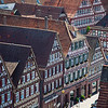 Traditional building in Calw, Germany