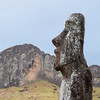 Each Moai represents an ansestor who was to be respected and worshiped