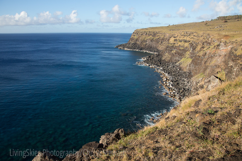 Coastline & the rocks below