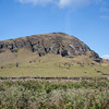 """Rano Raraku - the """"quarry"""" where all of the moai on the island originated.  Carved before the 1700's and then moved to an ahu.  The way they were moved is still under much discussion by experts."""