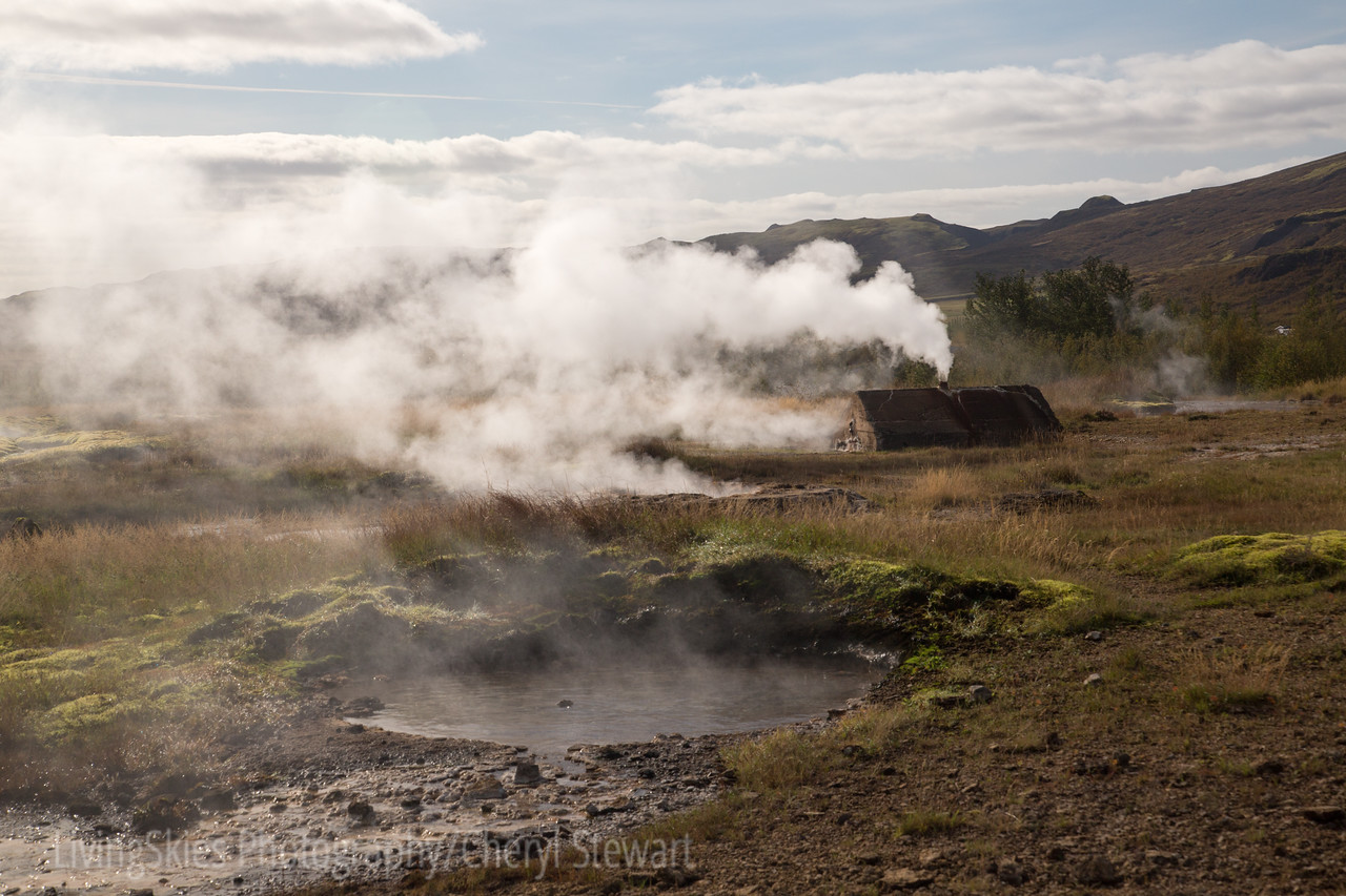 Haukadalur Valley geothermal area