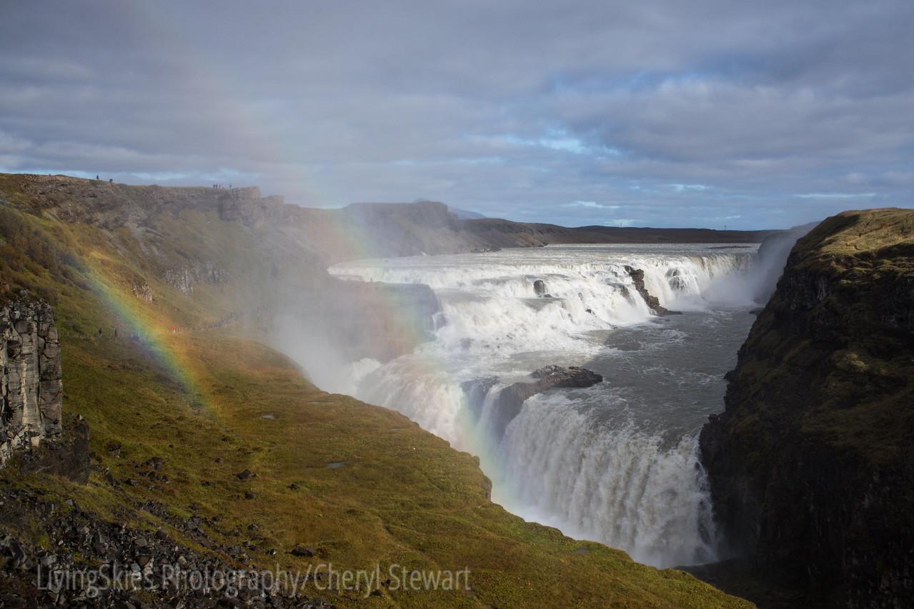 Gullfoss - Golden Waterfall