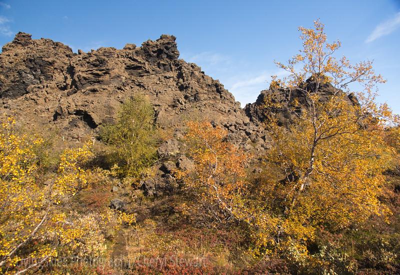 Dimmuborgir - Dark Castles  lava formations
