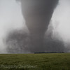 Tornado over irrigation pipe