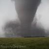 Tornado over irrigation pipe