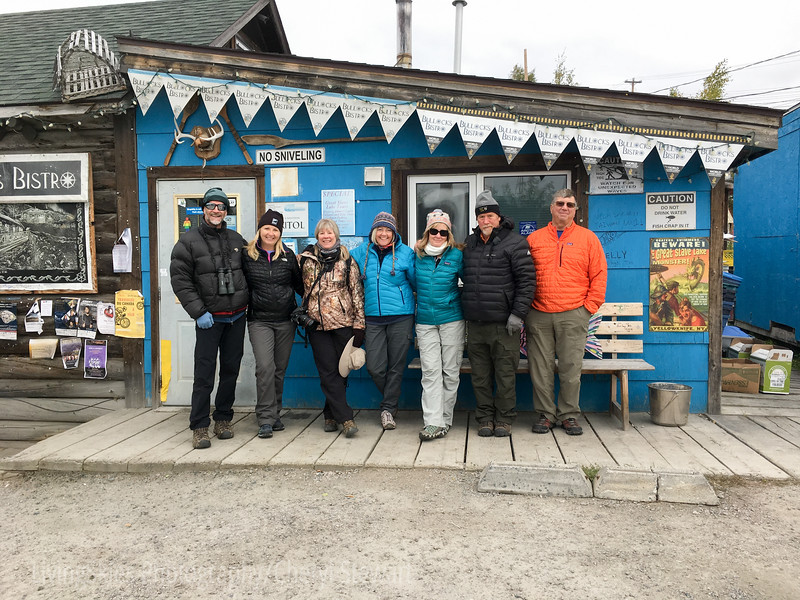 Our group in Yellowknife