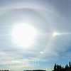 I'm told this was a Parahelic circle with a 22 degree halo and an upper tangent arc...