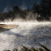 Morning Steam on the Madison River  YNP
