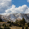 The backside of Mammoth Terraces   YNP