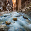Hiking the Narrows -Zion