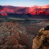 Canyon's Blazing Sunset