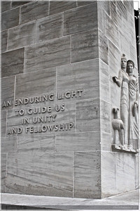 Another view of the Eternal Light Peace Memorial