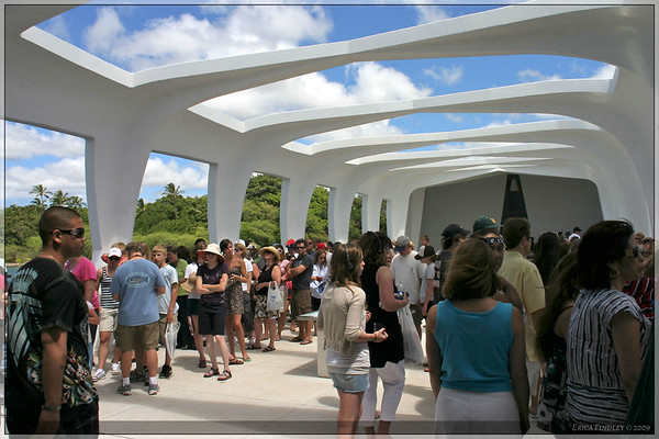 We finally made it out to the memorial.  My one disappointment was that we were only allowed 15 minutes there and it was very crowded.  It was still impressive and very moving, but I would have liked a little more time to be more contemplative.