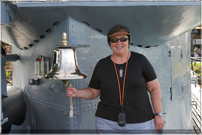 Jenny Stinson ringing the bell. :)