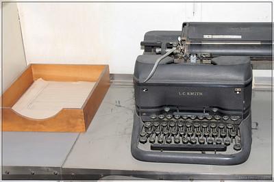 I loved the old typewriter.