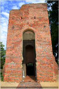 The oldest standing structure at the Jamestown Historical Site