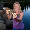 Rainbow Trout at Snowflower Lake
