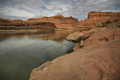 The Colorado River near Potash, UT