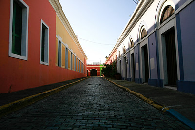 San Juan, PR: Street scene