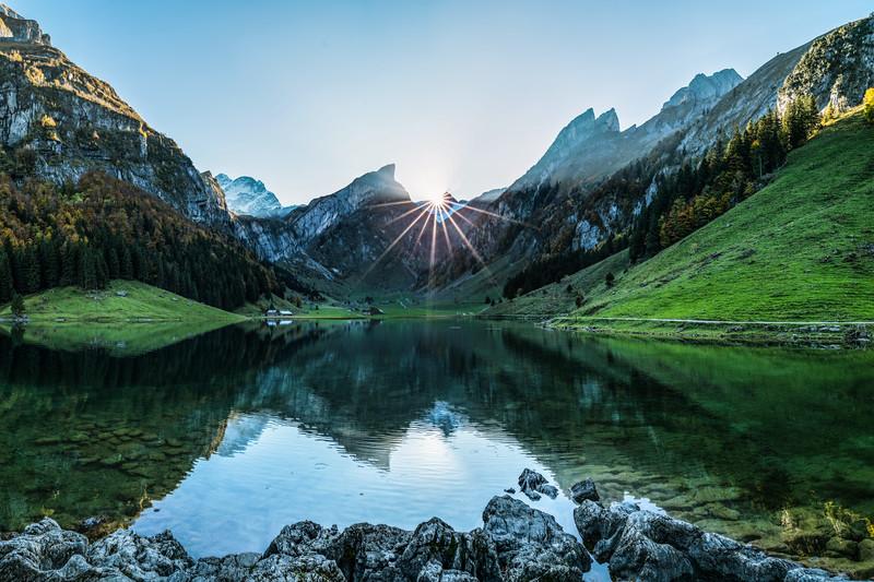Schweiz Seealpsee