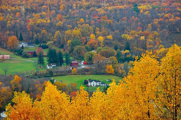 Poconos in Fall, Poconos