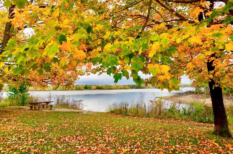 Fall at Redbank Marina
