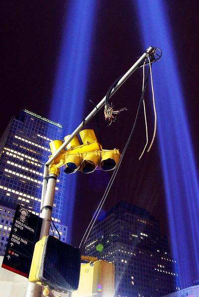 Tribute of Light, World Trade Center, New York City