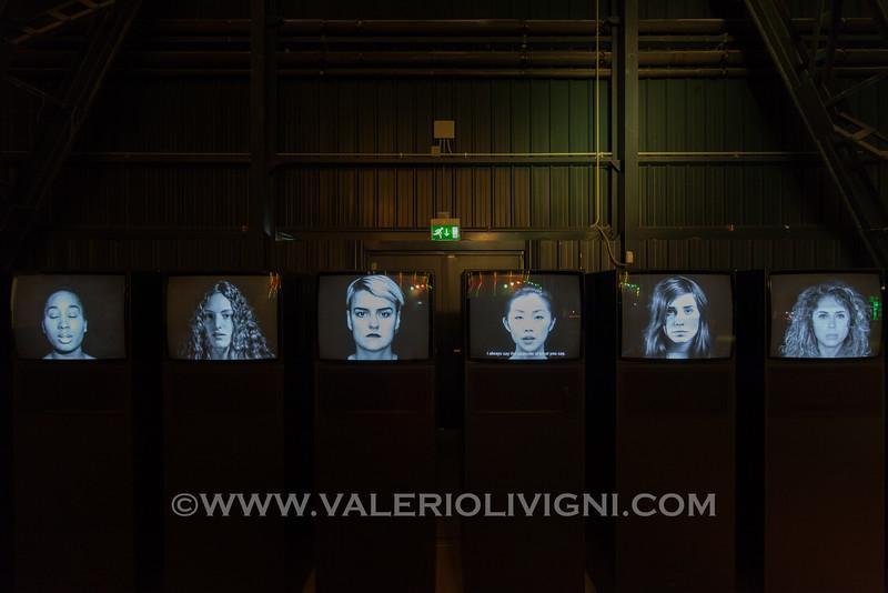 Twins by Carsten Höller at Doubt Exhibition, Pirelli Hangar Bicocca