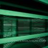 Neon Elevator by Carsten Höller at Doubt Exhibition, Pirelli Hangar Bicocca