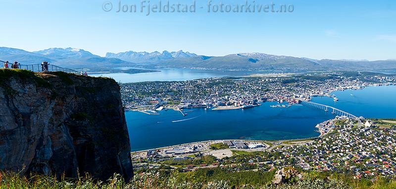 TROMSØ - STORSTEINEN PÅ FLØYA, 421 moh.
