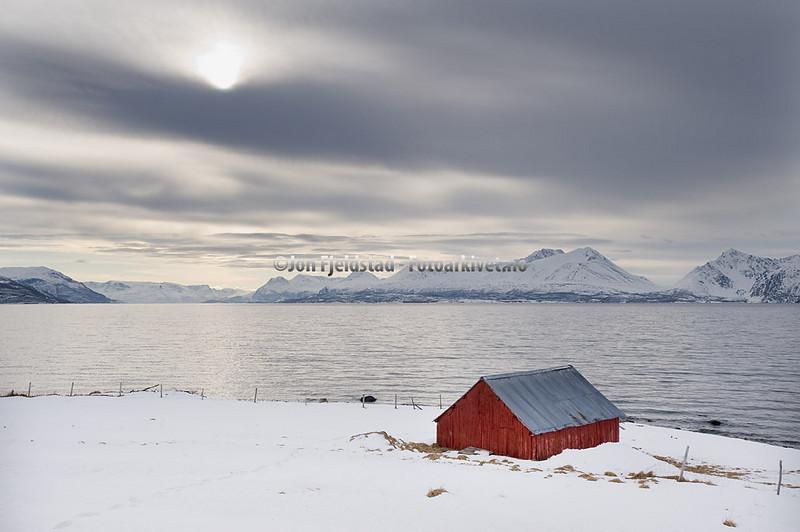 VED DJUPVIK - KÅFJORD - LYNGENFJORDEN - TROMS   _D700195