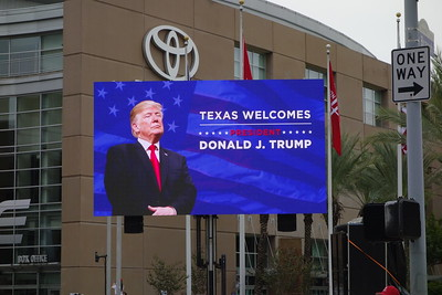 Trump Rally in Houston at the Toyota Center 10-22-2018