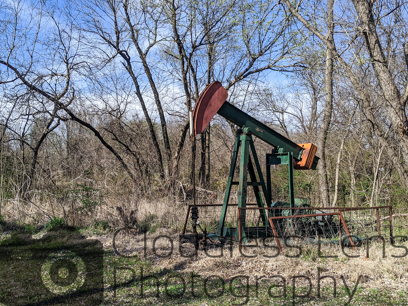 The Pumpjack Behind Mom's House