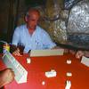 Playing tiles at bar in Izmir