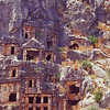 Anatalya ..these are Lycian rock carved tombs