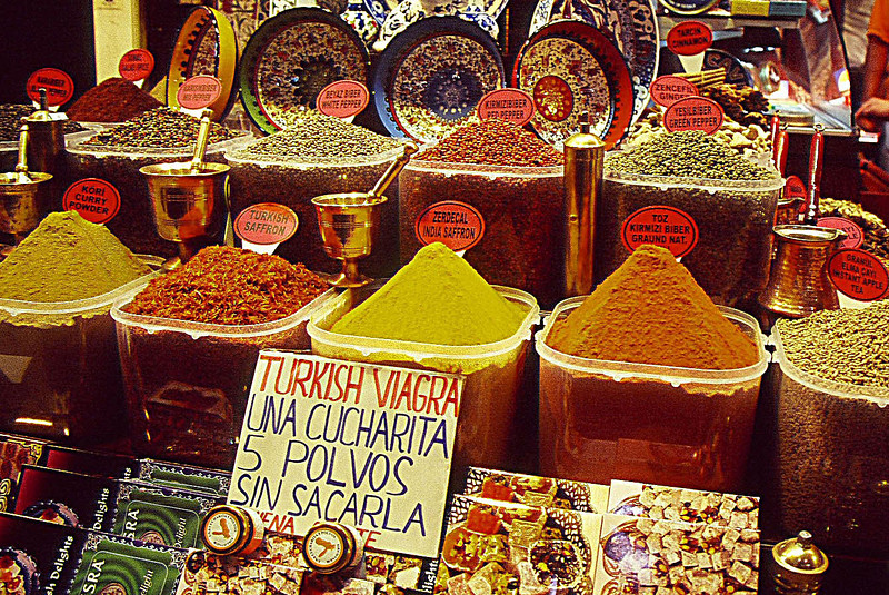 Turkish Viagra at Spice Market.