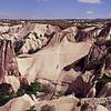 Natural landscape of Cappadocia