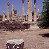 Ruins near Pergamum..Once a royal city of the Attalids.<br /> Famous in the third century B.C.