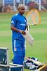 Sanath Jaysuriya<br /> Mumbai Net practice during IPL 3 at Brabourne Stadium for match against Bangalore.