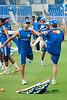 Jean-Paul Duminy<br /> Mumbai Net practice during IPL 3 at Brabourne Stadium for match against Bangalore