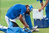 Saurabh Tiwary  <br /> Mumbai Net practice for IPL 3